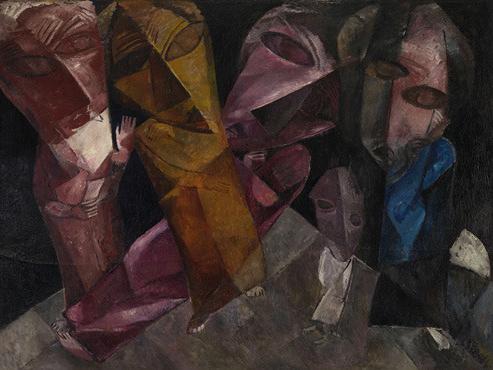 Lasar Segall, Eternal Wanderers, 1919