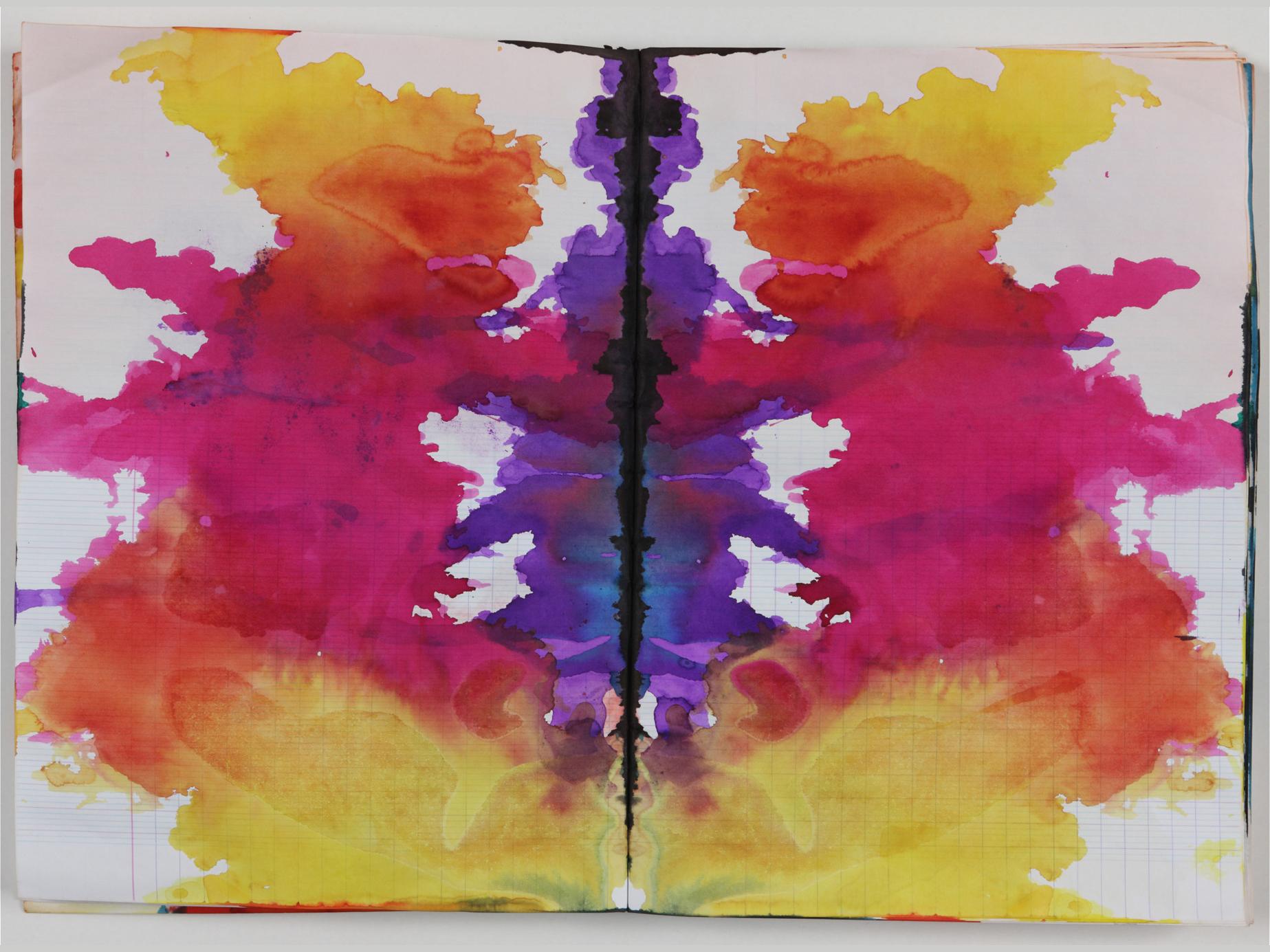 Sigmar Polke, Untitled (Rorschach), c. 1999