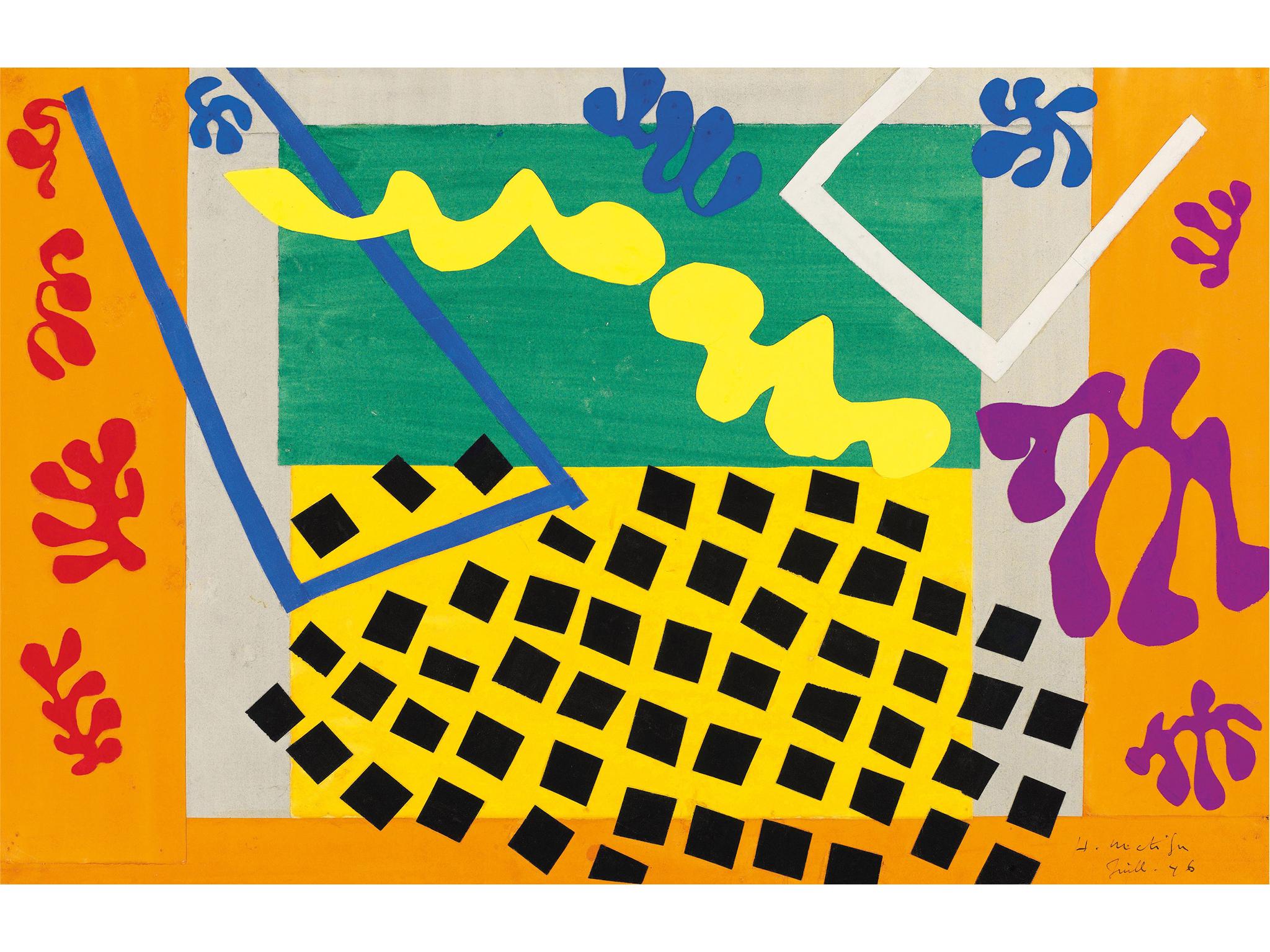 Henri Matisse, The Codomas (Les Codomas), 1943