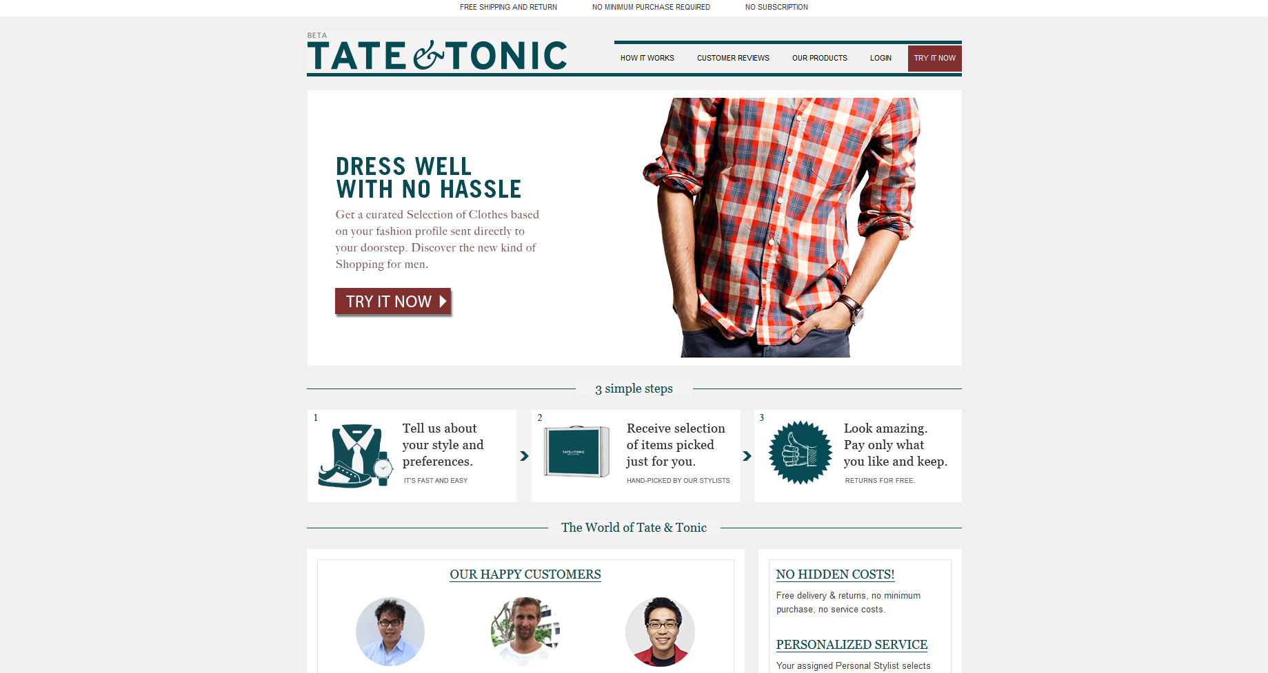 Tate & Tonic