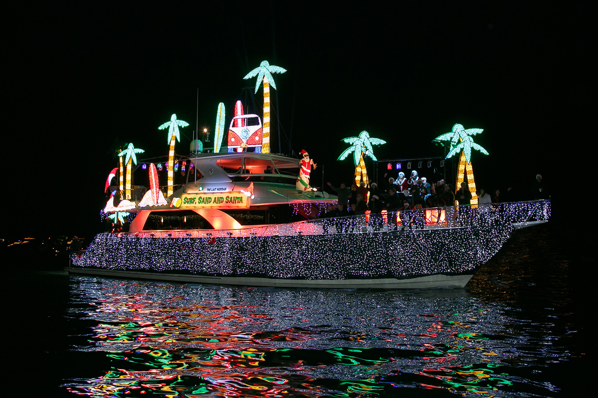 Newport Beach Boat Parade Christmas