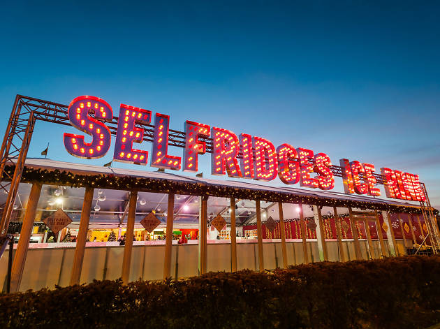 Selfridges Ice Rink