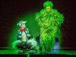 Shuler Hensley and company in Dr. Seuss' How the Grinch Stole Christmas