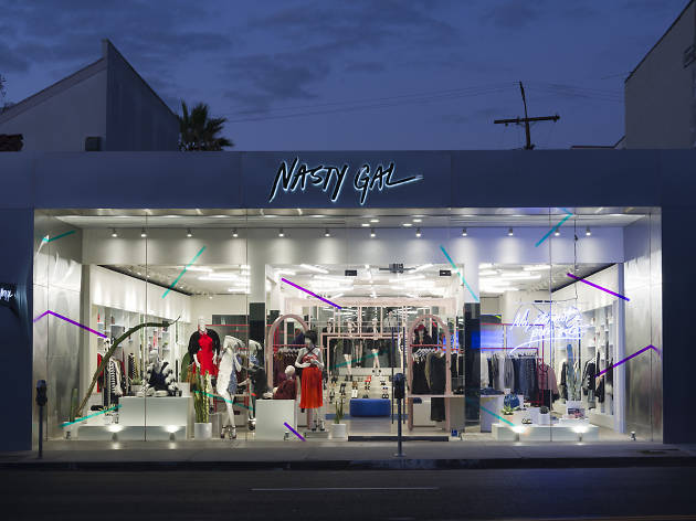 Nasty Gal Melrose's Grand Opening