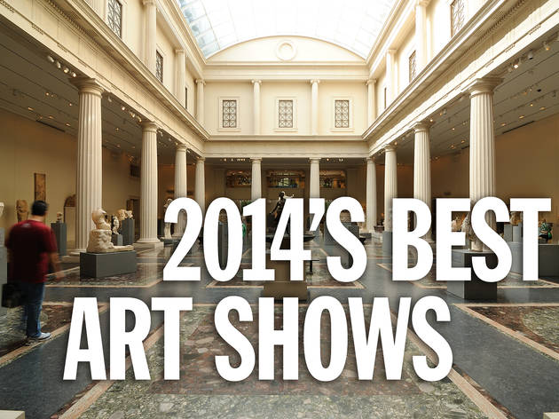The 10 best art shows of 2014