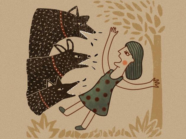 Echarle los perros (Ilustración: Diego Martínez)