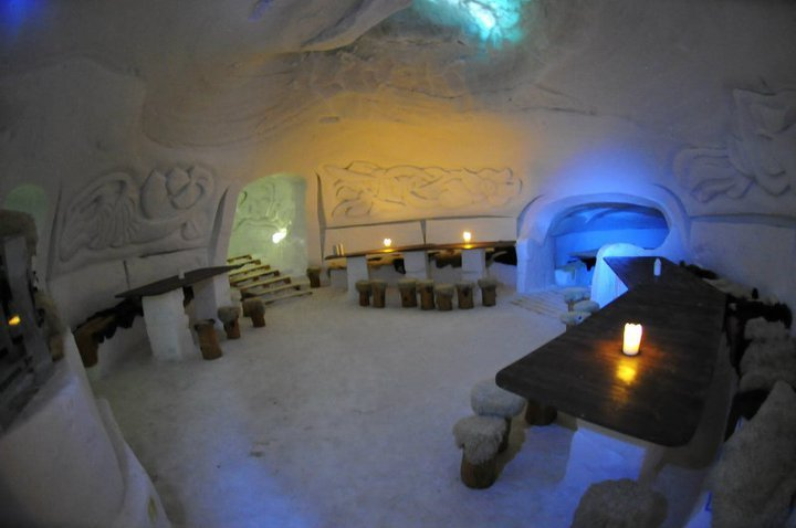 1. Stay in an Igloo