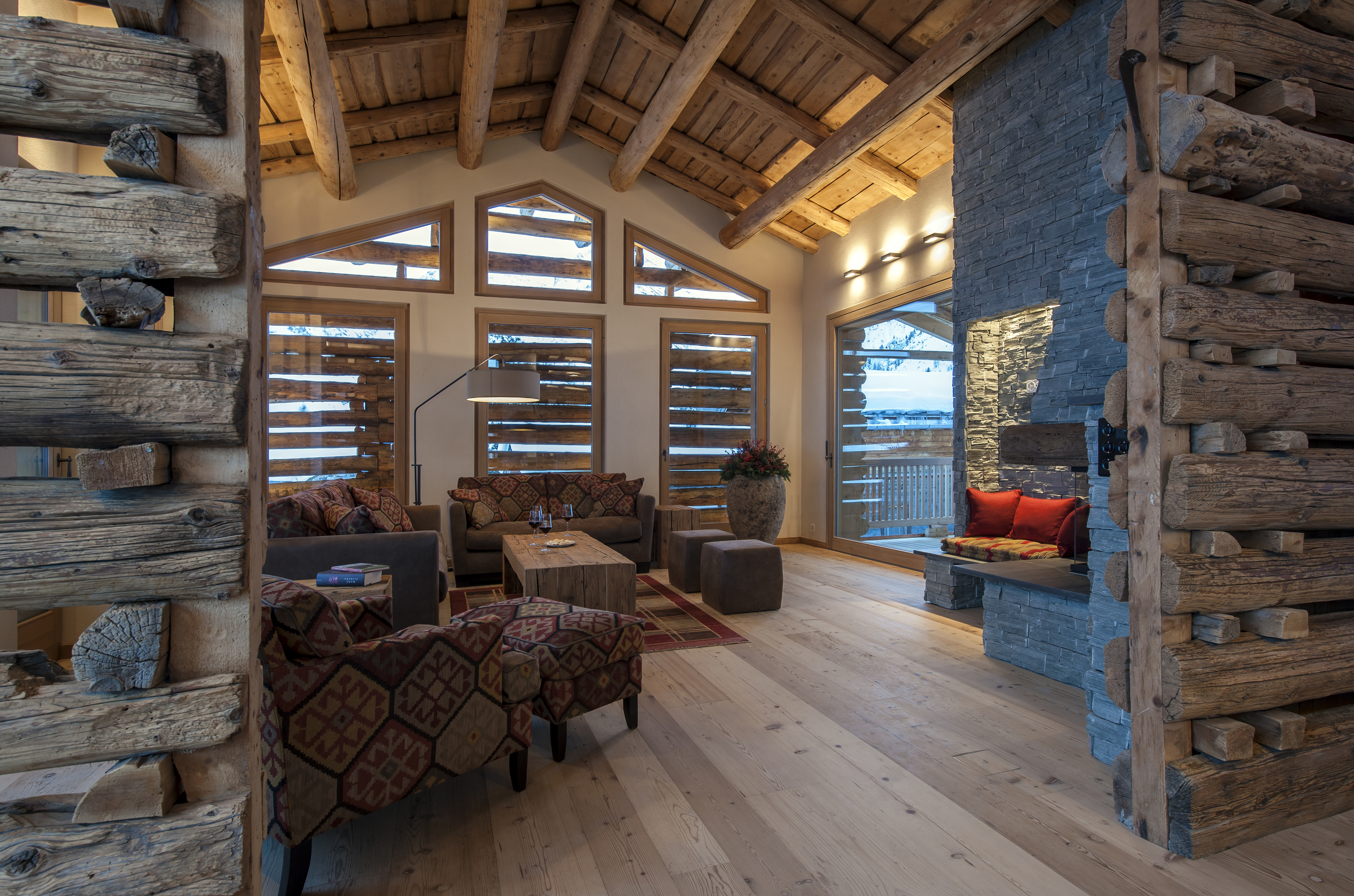 4. Stay in a luxury chalet