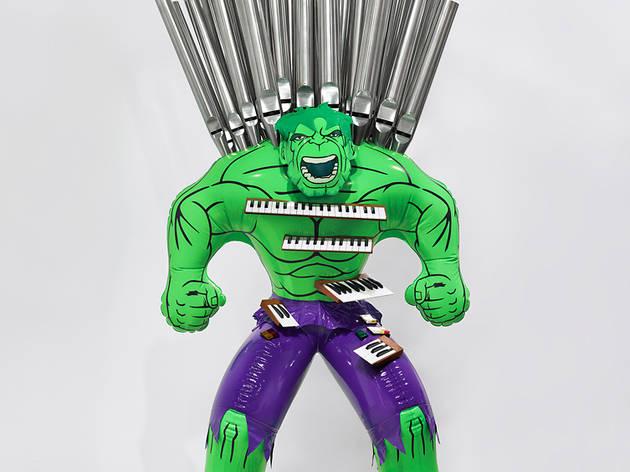 ('Hulk (Organ)', 2004-2014 / ©Jeff Koons)