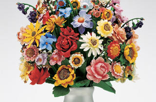 ('Large Vase of Flowers', 1991 / ©Jeff Koons)