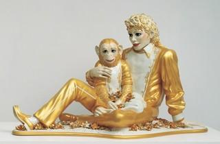 ('Michael Jackson and Bubbles', 1988 / © Jeff Koons)