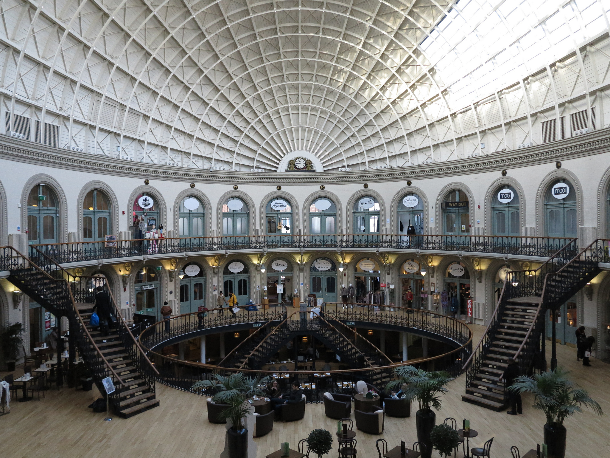 Seek retail solace at the Corn Exchange