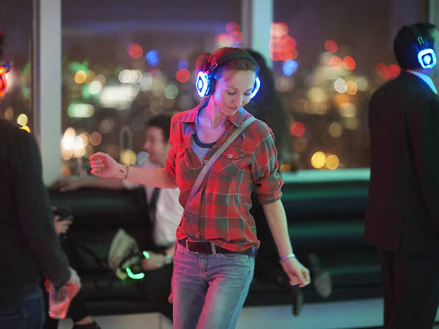 Silent Disco at Altitude competition