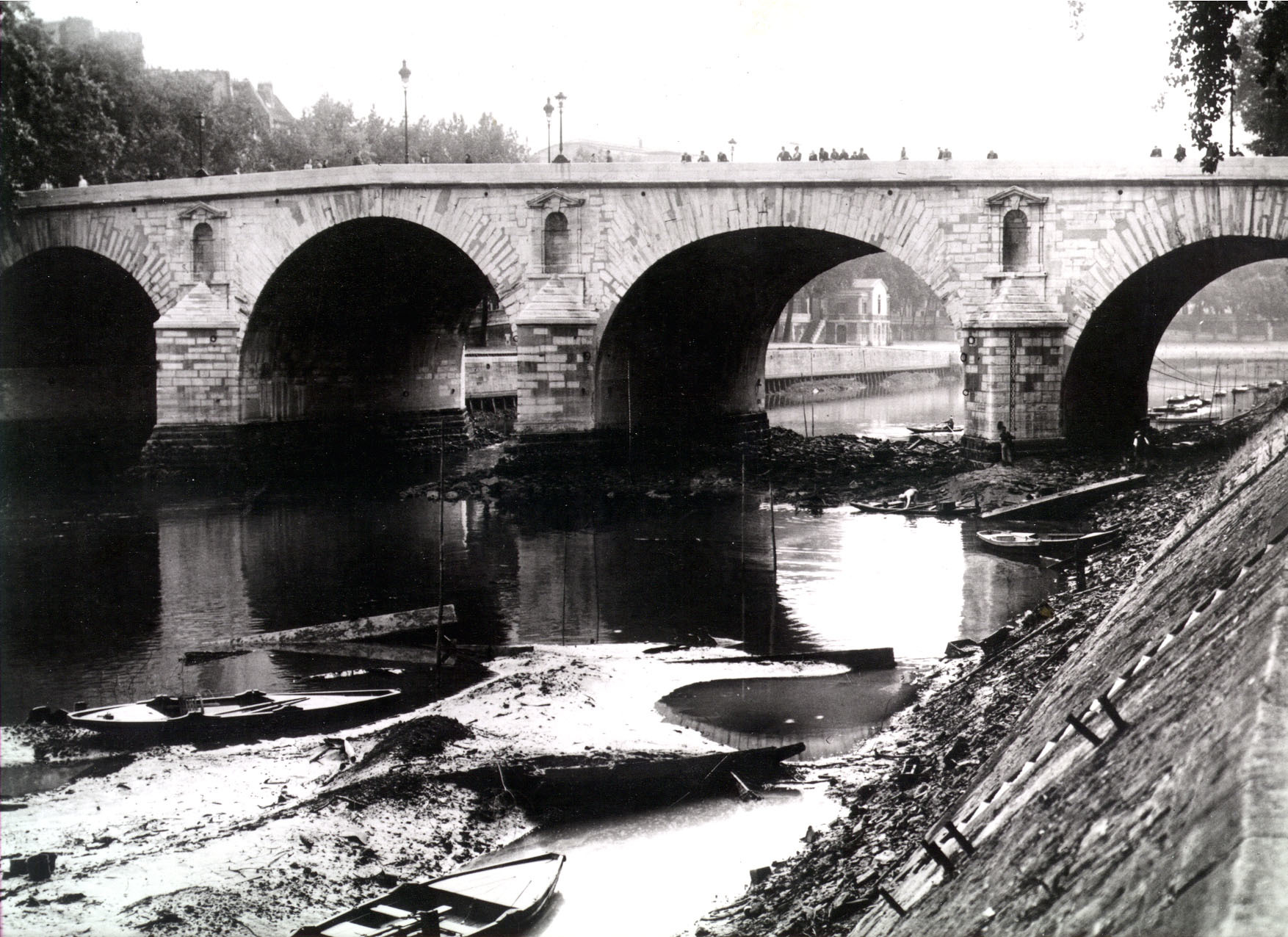 Pont Marie 400 ans histoire Paris