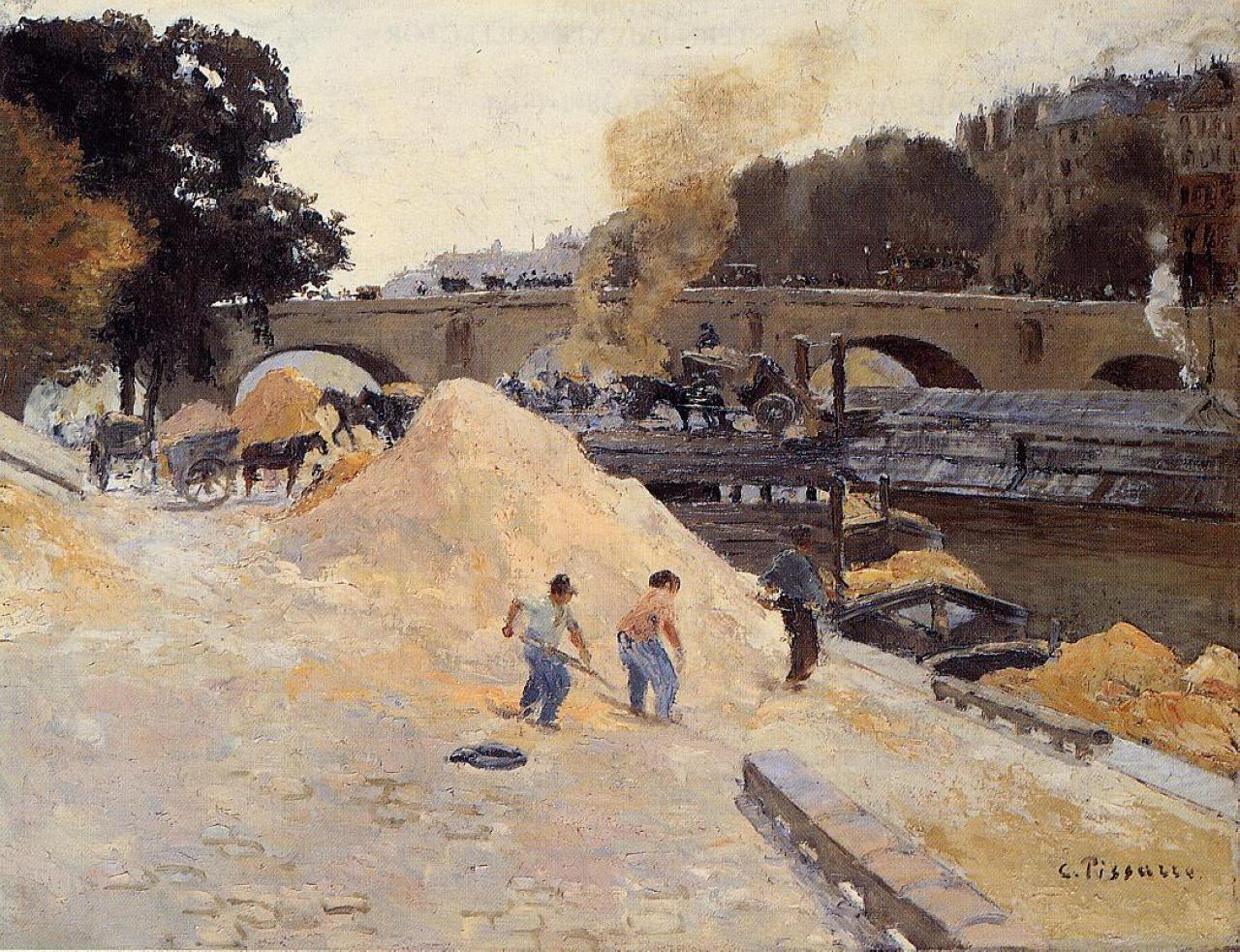 Pissarro à Eragny - L'anarchie et la nature