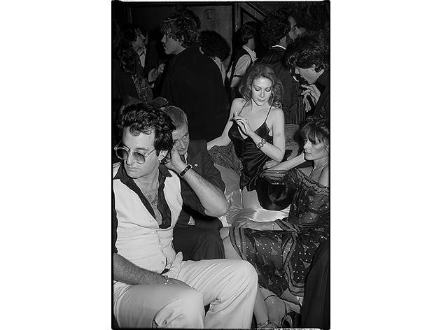 "(Tod Papageorge, courtesy Galerie Thomas Zander, Cologne. ""Studio 54"", New York, 1978-1980)"