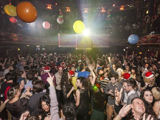 Christmas party venues in London