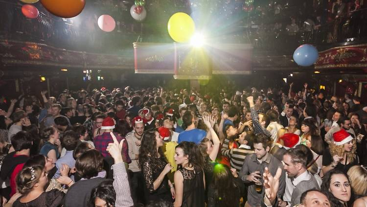 Buttoned Down Disco Christmas Party