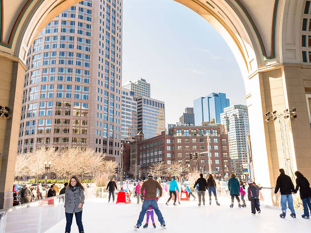 Rotunda Rink at Boston Harbor Hotel