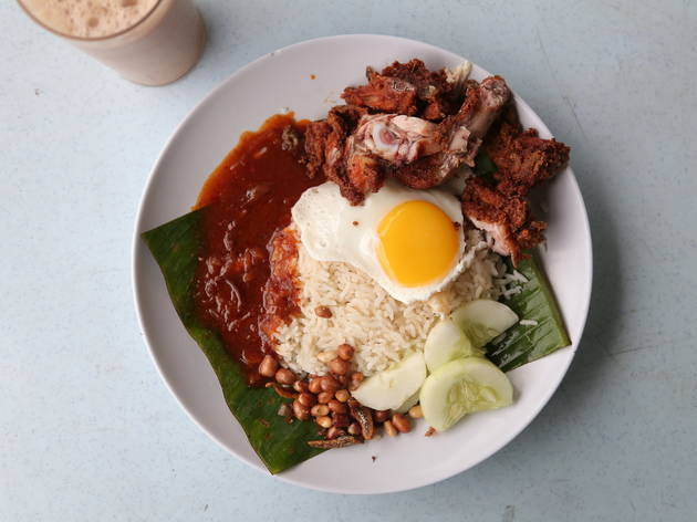 Best cheap eats: Nasi Lemak Bumbung