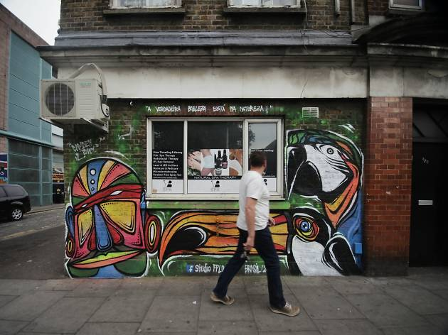 Camden Street Art Walking Tour