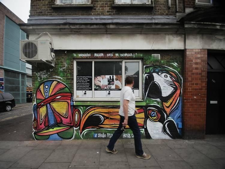 East End street art walking tour