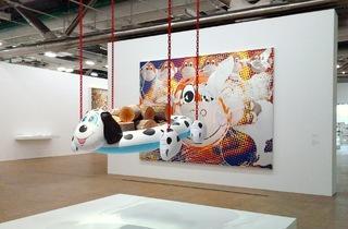 (Vu de l'exposition 'Jeff Koons' / Photo : © TB / Time Out)