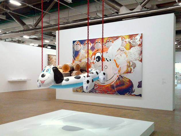 (Vu de l'exposition 'Jeff Koons' / Photo : © TB / Time Out)