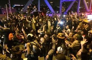 NYC protests in solidarity over Ferguson verdict