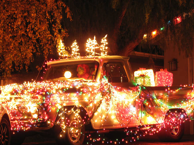 Christmas lights in Los Angeles: Candy Cane Lane - 15 Best Places To See Christmas Lights In Los Angeles