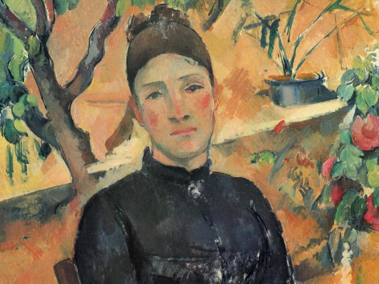 """Madame Cézanne"" at MoMA"