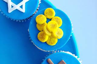 Hannukkah Cupcake Party