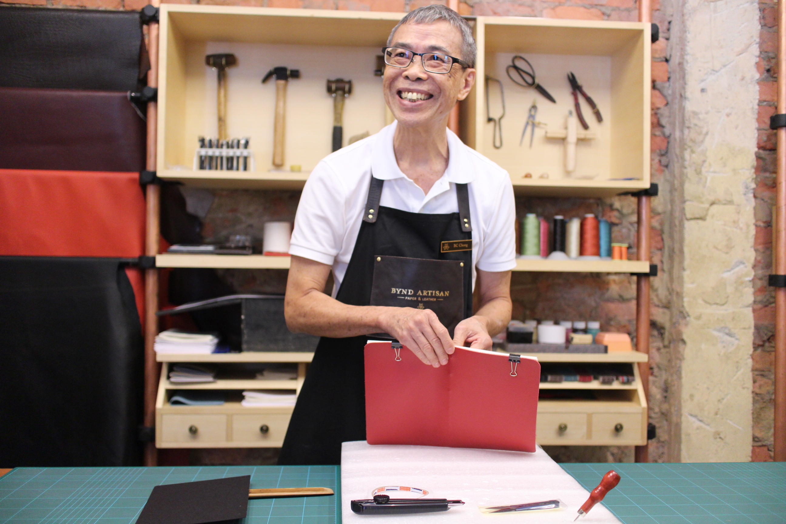 Chong Beng Cheng of Bynd Artisan