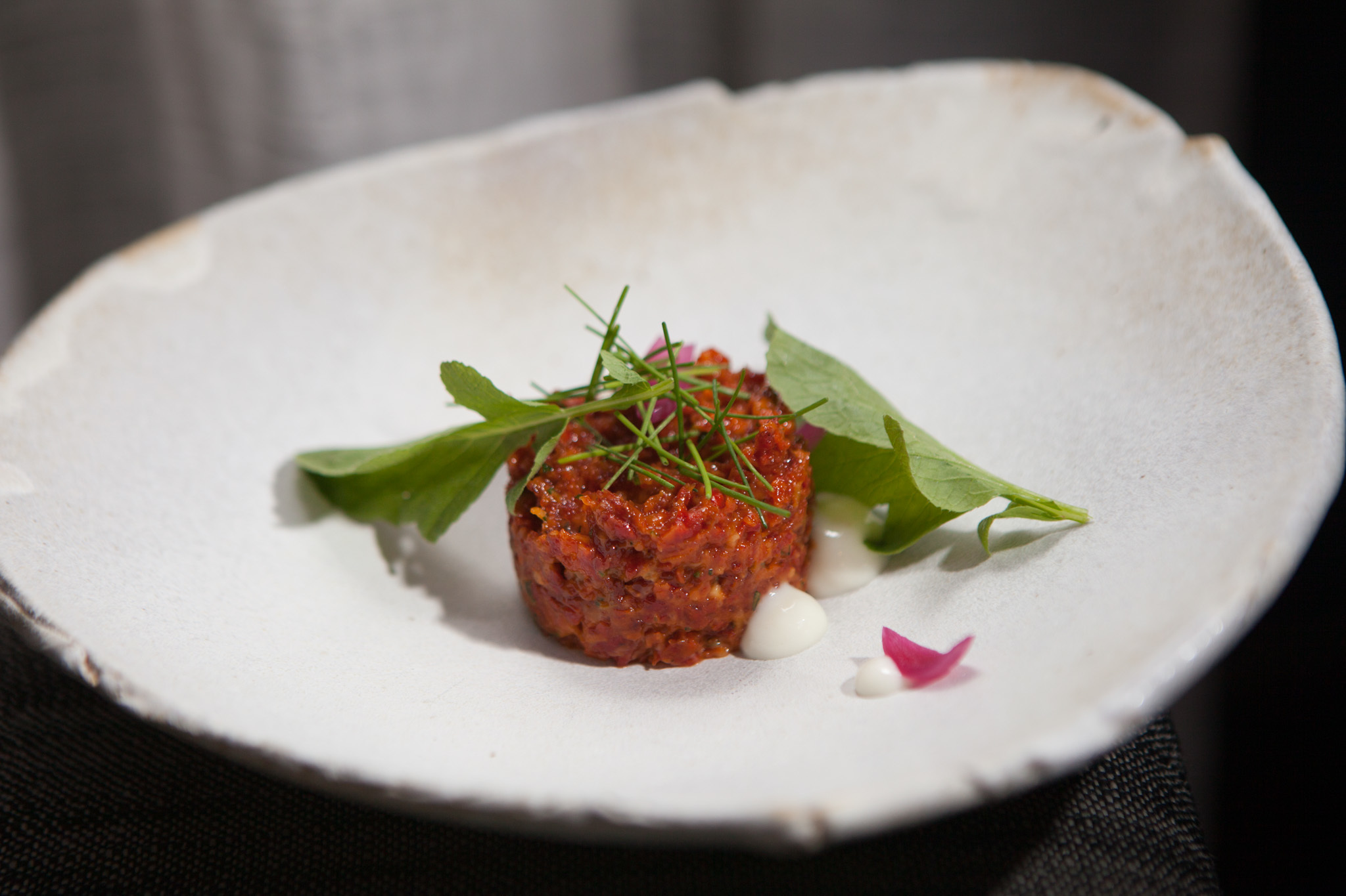 <p>Momotaro tartare is on the menu at Momotaro.</p>