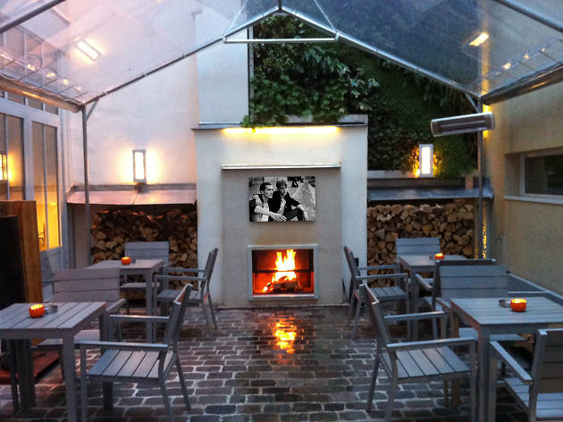 Bars with open fires