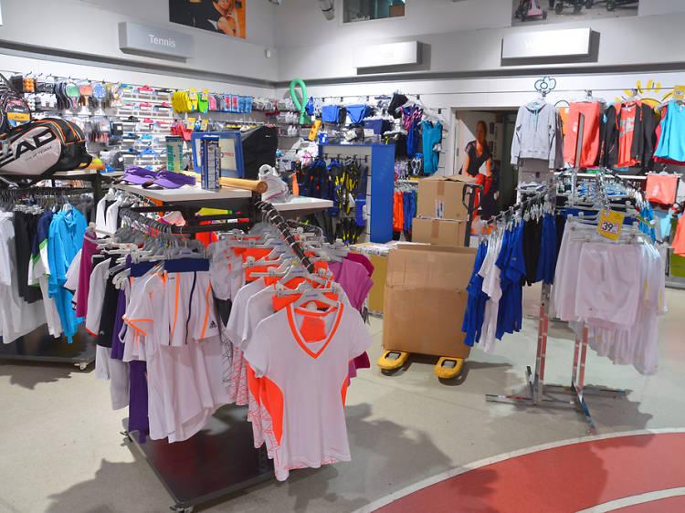 Botigues d'esports