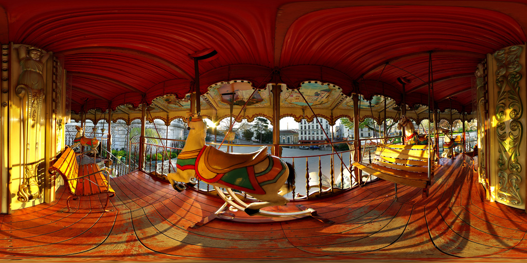 Carousels in Paris