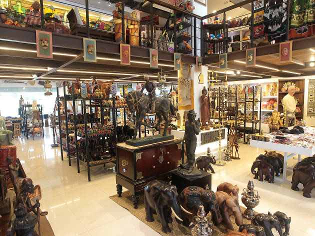Laksala is a gift and souvenir boutique featuring handicrafts