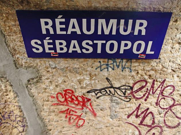 Métro Réaumur Paris