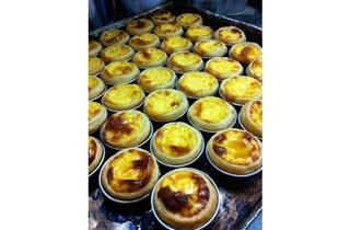Egg tarts at Swee Choon