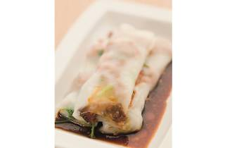 Tim Ho Wan - Vermicelli roll stuffed with pig's liver