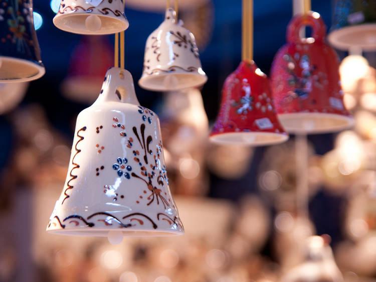 Arpenter les marchés de Noël