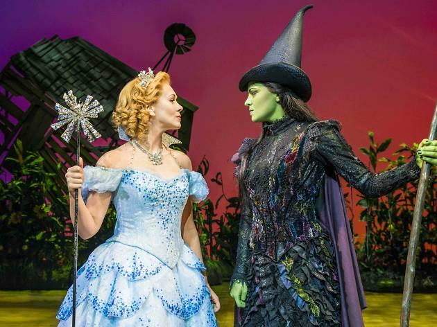 Savannah Stevenson and Jennifer DiNoia in 'Wicked'