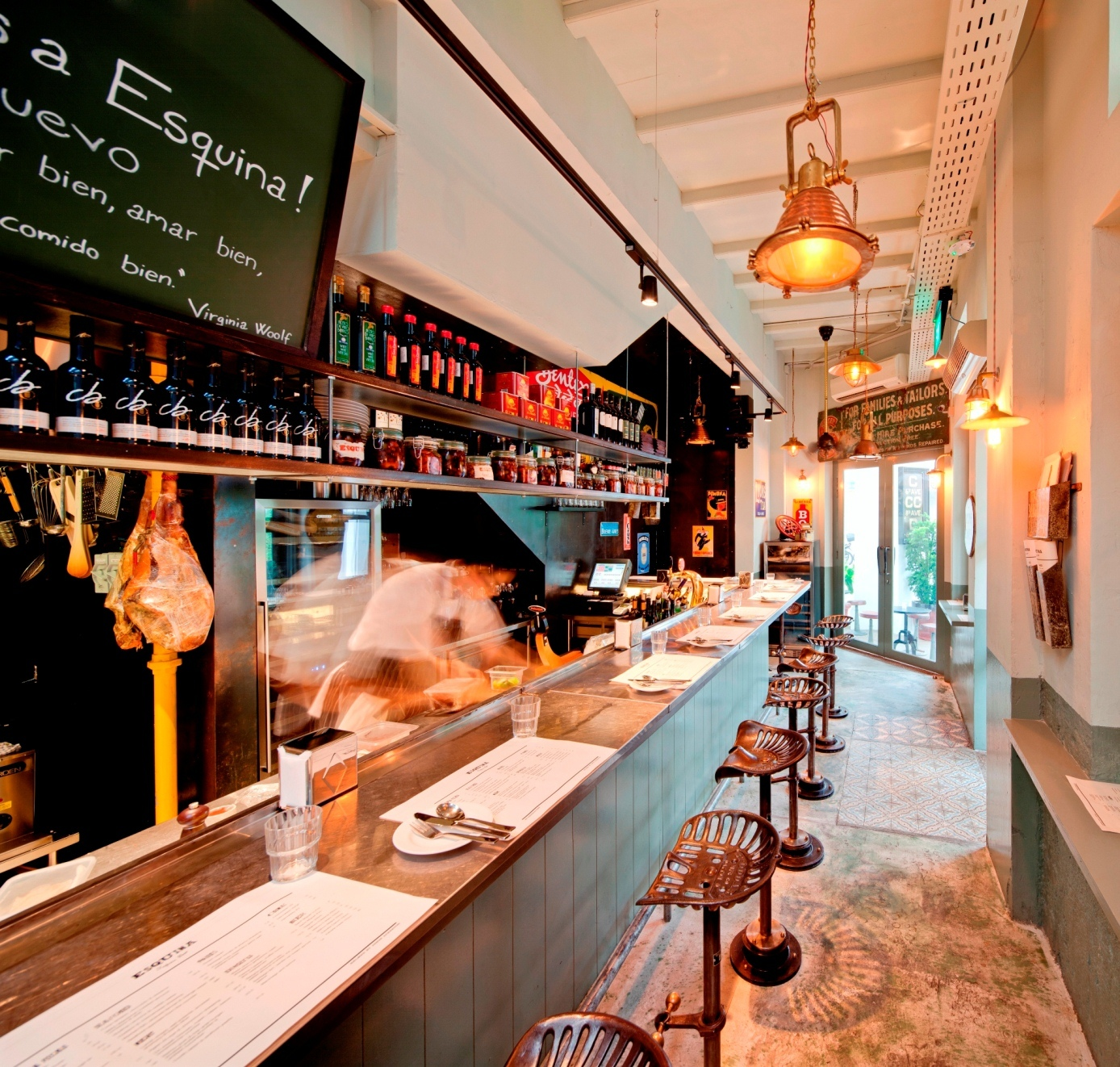 Kick back with Michelin-starred tapas...