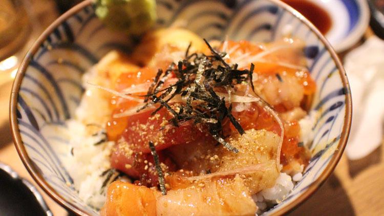 Bara chirashi, $16-$17.60 at Teppei Orchid Hotel, Hana Hana, Teppei   Syokudo and Hanare