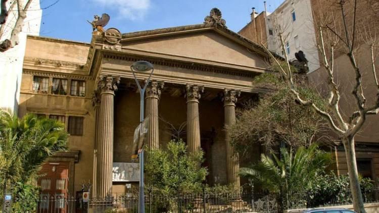 El temple romà de l'Eixample