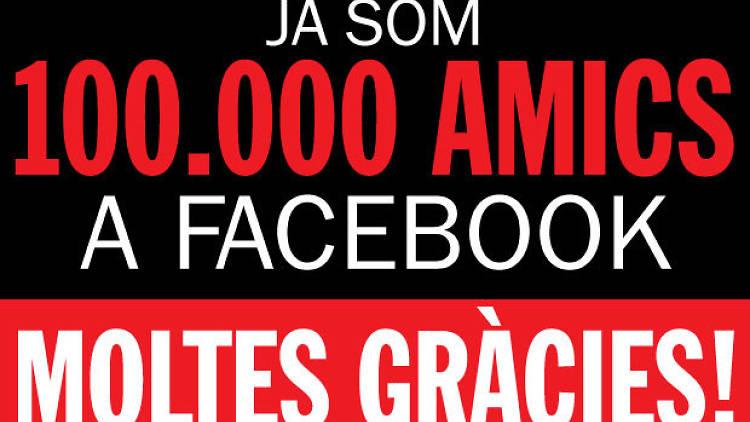 100.000 facebook