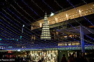 Southbank Christmas lights