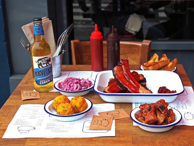 Win a BBQ feast for two at Porky's
