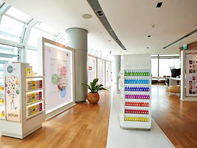 Feed your skin at the first skin supplement bar in Asia